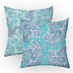 Found it at Wayfair - Coral Reverie Throw Pillow