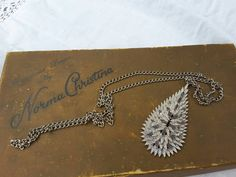 Leaf Pendant, Leaf Shapes, Treasure Chest, Looking Stunning, Chain, Metal, Silver, Jewelry, Design