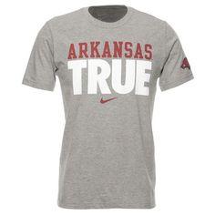 Nike Men's University of Arkansas Be True T-shirt @ academy.com