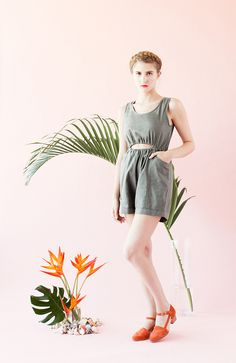 Naiad Romper Samantha Pleet SS14 Photo by Jacqueline Di Milia Model Emily Rose Theobald