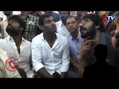 Vishal alleges threatening of his supporters - Releases Audio Proof|STV