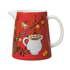 Mumin Kanna Lilla My's Dag Arabia Moomin Mugs, Tove Jansson, Cafe Menu, Scandinavian Kitchen, Little My, Porcelain Ceramics, Home Accessories, Give It To Me, Mumi