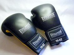 Buy Evolution Professional equipment - Boxing gloves - Yellow 10 OZ - brand new - as per photo for R200.00