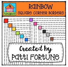 With this matching set of RAINBOW Square Borders you can coordinate with all my RAINBOW sets and add a bit of color to your resources and activities.This clip art set includes 12 images. If you like this set I'd love to have your feedback for my shop.