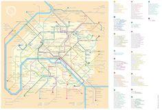 Artist Renames Metro Stops For Famous Ladies