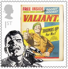 New stamps honour comic icons