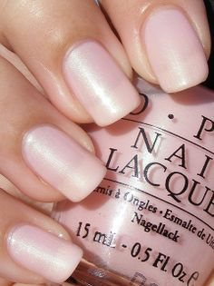 ❤️OPI Isn't It Romantic? Looks similar to Julep Glinda the Good Witch. Works well with FR mani; most of these semi-sheer shades require 3 coats for opacity.