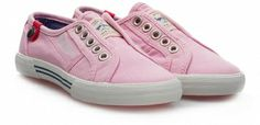 Pepe Jeans Trampki Barker Junior różowe 532867