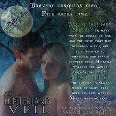 Official promo from The Hinterland Veil, Volume 7 in The House of Crimson & Clover series. Clovers, Veil, Veils, Toile