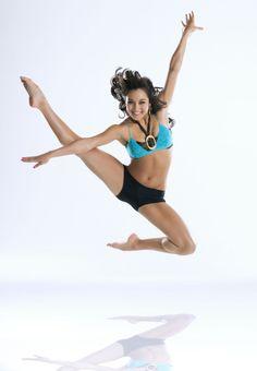 Contemporary jazz dancer