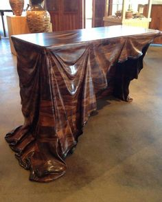 Carved table - masterpiece!