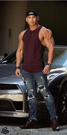 Mens Sleeveless Gym Singlets and T-shirts 94e50539810b