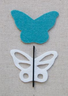Bobby Pin Butterflies - the purl bee