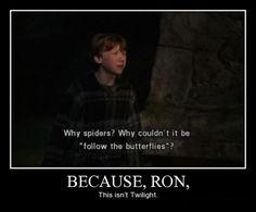 """This isn't Twilight."" Yet... How will we EVER explain Cedrick..."