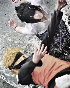 . Anime : Naruto Shippuden Character : Sasuke & Naruto Coser : Touga &…