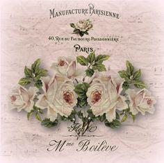 Pictures for decoupage Vintage Flowers, Vintage Floral, Pink Flowers, Paper Flowers, Papel Vintage, Vintage Paper, Vintage Labels, Vintage Ephemera, Vintage Artwork