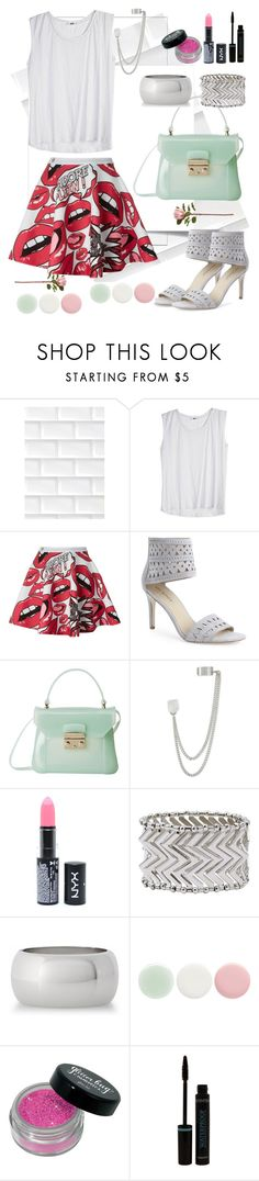 """Plein´s skirt"" by mary-domenech on Polyvore featuring moda, 3M, Philipp Plein, Via Spiga, Furla, French Connection, NYX, M&Co, Express y Nails Inc."