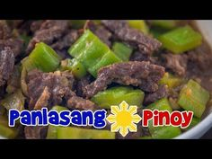 Ampalaya Con Carne is beef stir-fry with bitter gourd. This is dish is quick and easy to make. It is tasty and delicious. Filipino Dishes, Filipino Recipes, Filipino Food, Ampalaya Con Carne, Con Carne Recipe, Marinated Beef, Beef Sirloin, Fried Beef, Beef Stir Fry
