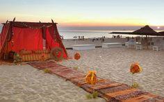 5 lugares para casar na praia. #casamento #lugares #praia #CostadaCaparica