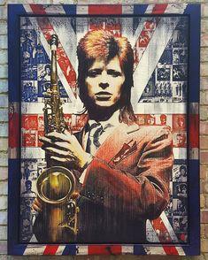 DB art Iggy And The Stooges, Ian Hunter, Mott The Hoople, Mick Ronson, David Bowie Art, The Thin White Duke, Marc Bolan, Anatomical Heart, Ziggy Stardust