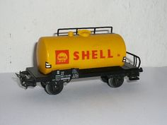 Märklin H0 - 4502 - Kesselwagen Shell der DB - OVP Shells, Ebay, Kettle, Conch Shells, Seashells, Sea Shells, Snail, Clam Shells, Shell