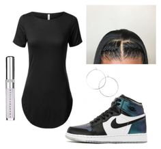 """""""~t-shirt dress~"""" by qveenmm on Polyvore featuring Chantecaille"""