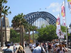 Australia, Sydney Harbor Bridge, Sydney
