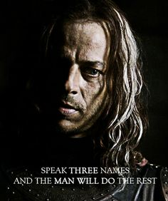 Jaqen H'ghar, Game of Thrones  oh, to have a hit man like this....I'd like more room on my list, though.