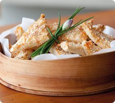 Sesame Prawn Toasts - simple and delicious, perfect for entertaining friends. www.annabel-langbein.com