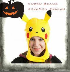 Gorro Beanie Pokemon Pikachu