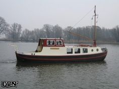 Biesbosch Aak Platbodem 1920