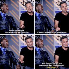 He's lowkey the best Avenger.