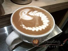 Coffee Art-Pacman!