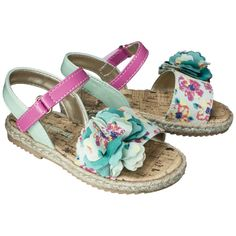 Toddler Girl's Cherokee® Jenalyn Sandals - Multicolor