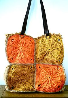 Another great crochet bag!