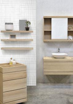 Ethnicraft Bathroom: the Cadence line.