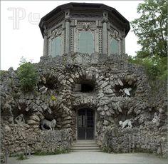 veitshoechheim castle | ... named grotto in the formal garden of the castle in Veitshoechheim