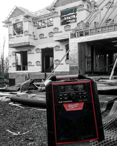 Milwaukee m18 radio has been rocking zeppelin and biggie smalls for a while battery packwhich is a 5.0 last me thru my 12 hours of work day without charging!!!!!!. On top also charges my cell has 2 usb ports and its a Bluetooth which is awesome gotta keep it a bit far because it echos so loud inside the homedefinitely worth the buy if your like me and dont wanna use an extra outlet to power the radio and wanna keep your cell charged and safe in the compartment it provides  highly recommended…