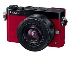 Panasonic LUMIX DMCGM5 DSLM Mirrorless Camera with Eye Viewfinder 1232mm Lens Kit Red  International Version No Warranty * For more information, visit image link.
