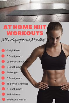 Working Weight Loss For Women Over 40 Methods HIIT workouts are a superior way to burn fat. - HIIT workouts are a superior way to burn fat, lose weight and keep your muscle mass. Check out thes - Hiit At Home, Cardio Workout At Home, At Home Workouts, Cardio Workouts, Workout Plans, Best Hiit Workouts Fat Burning, Workouts For Women, Hiit Workouts With Weights, Walking Workouts