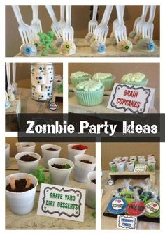 Zombie Party Walking Dead Birthday Party Ideas