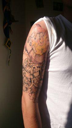 2/5 secciónes del tattoo