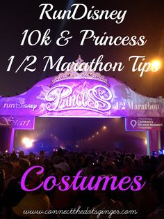 Connect the Dots Ginger: Disney Princess 1/2 Marathon Tips For New Runners: 1/2 Marathon Race. Ready to run your first 1/2 marathon or Disney race. Check out my tips to help you from start to finish!