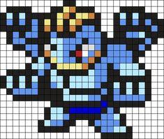 Machamp Pokemon Bead Pattern Kandi Pattern