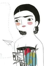 Risultati immagini per frida kahlo una biografia maria hesse