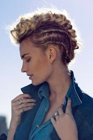 Faux mohawks for formal hairstyles!