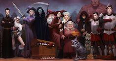 Equal Rites art by Katarzyna Oleska