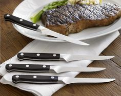 Zwilling J.A. Henckels Pro 4-Piece Knife Set.