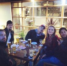 #vikings. Night after first day filming.