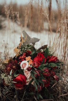 Romantic Autumn Shoot | Front Porch Flower Co.